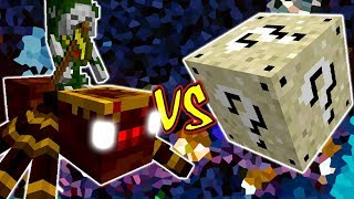 REI DAS ARANHAS VS. LUCKY BLOCK AREIA (MINECRAFT LUCKY BLOCK CHALLENGE KING SPIDER)