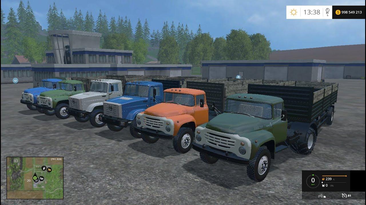 Скачать зил 130 для farming simulator 2015.