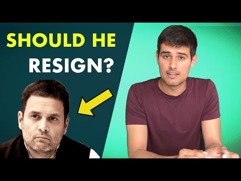 Should Rahul Gandhi Resign?| Analysis of BJP's Win and Opinion by Dhruv Rathee