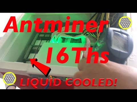 Bitcoin Mining Experiment! How to 16ths liquid cooled Antminer S9 with mineral oil