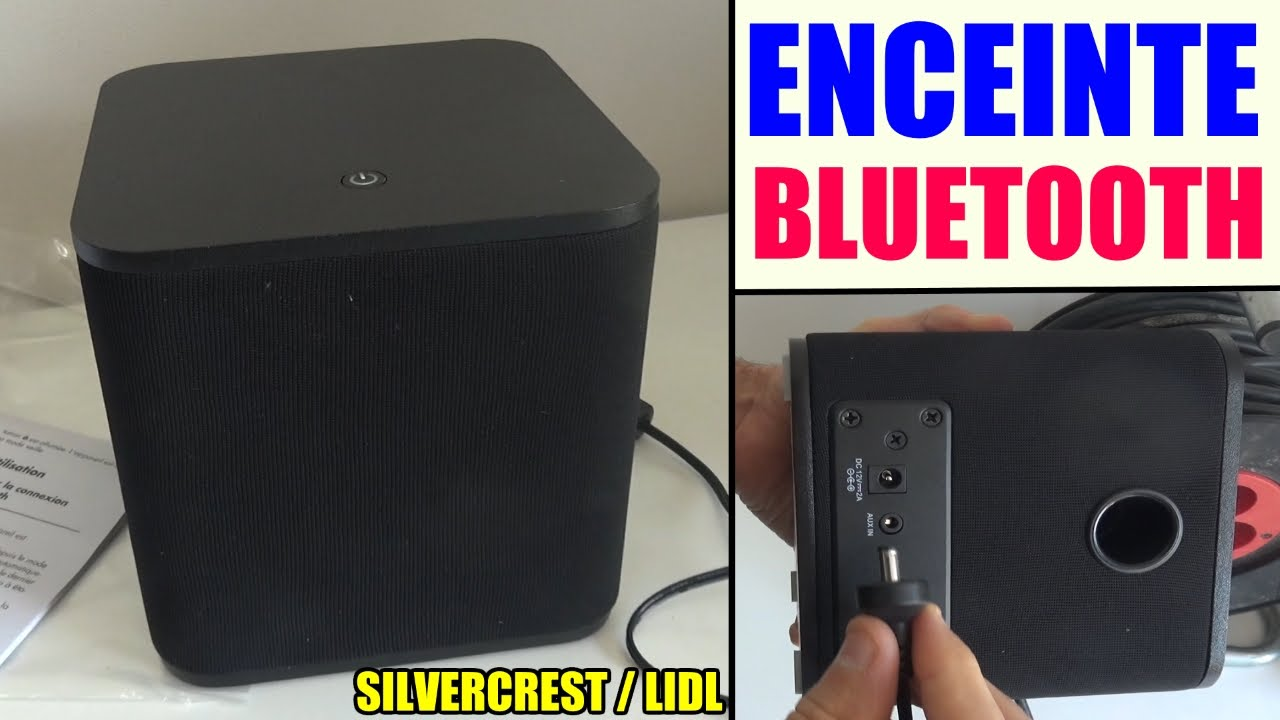 enceinte bluetooth lidl silvercrest sbls 20 speaker lautsprecher youtube. Black Bedroom Furniture Sets. Home Design Ideas