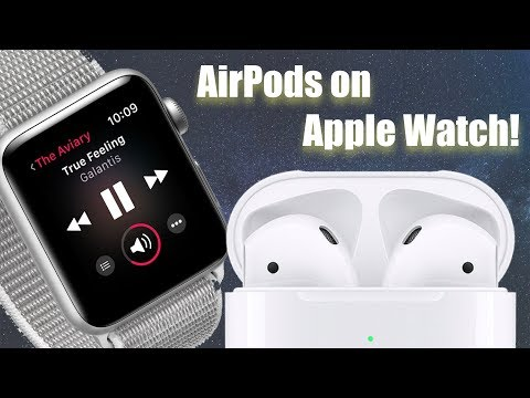 Connect AirPods On Apple Watch And How To Connect Any Bluetooth Speaker Or Headphones!