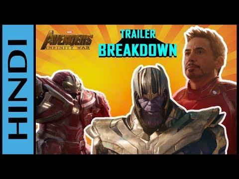 Avengers Infinity War Trailer 2 Breakdown IN HINDI | Avengers Infinity War IN HINDI | avengers