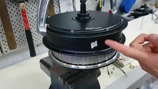 Замена датчиков холла в мотор-колесе. Диагностика и ремонт