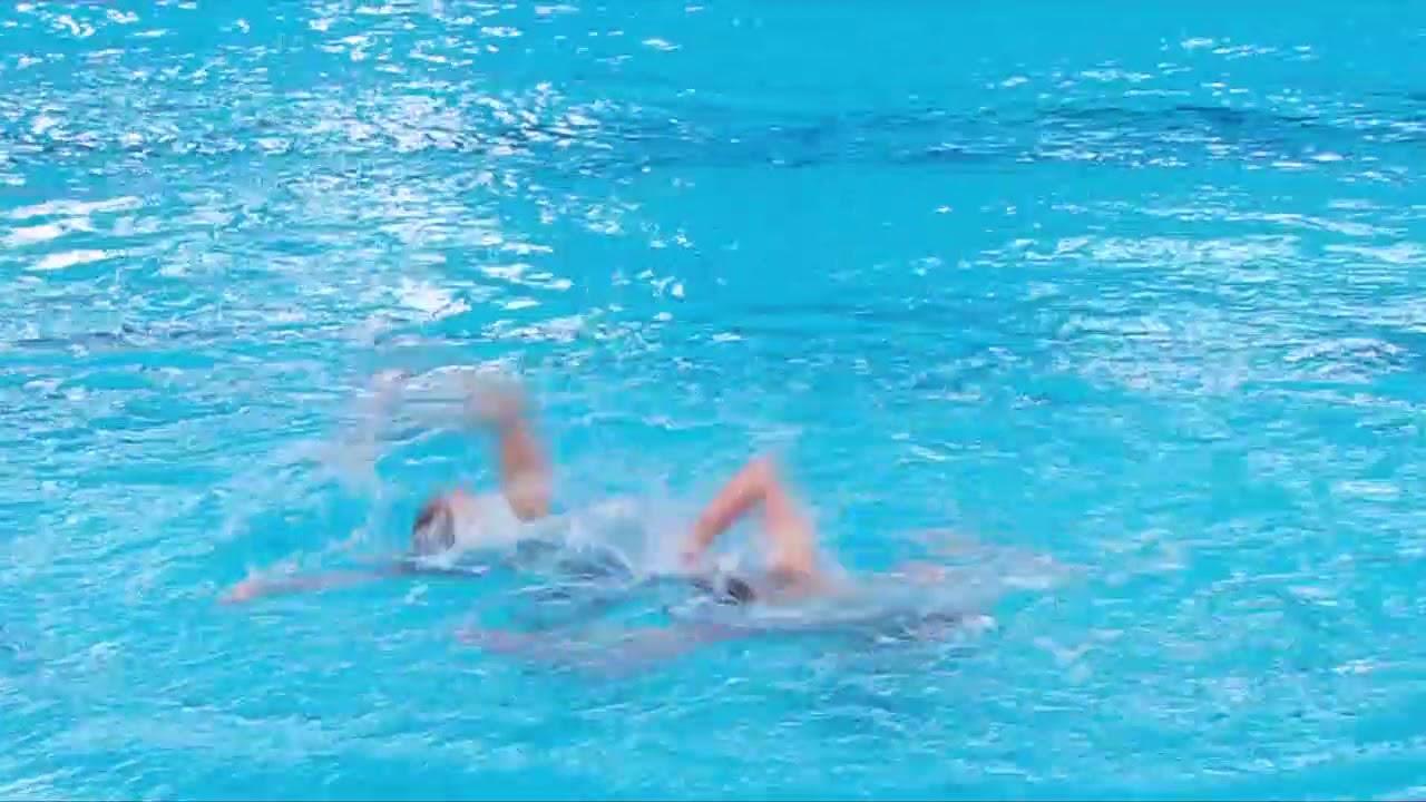 duet win synchronized swimming  of Ukraine