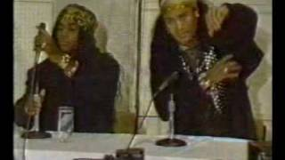 Milli Vanilli press conference (1990)