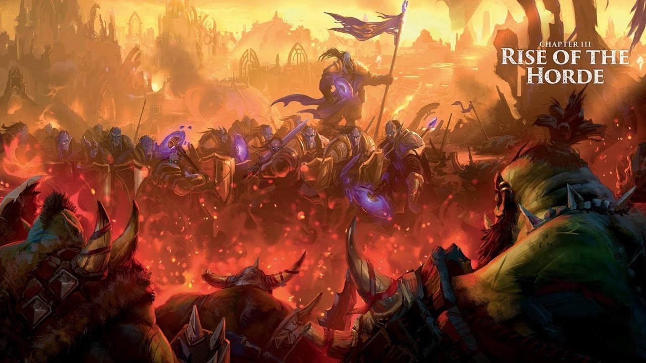 rise of the horde warcraft chronicle vol 2 lore