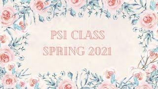 Lambda Delta Psi Spring 2021 Psi Class