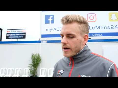 Interview with Dominik Kraihamer from Rebellion Racing at 24 Hours of Le Mans Pesage