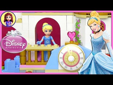 Cinderella's Romantic Castle Lego Disney Set Part 2 Build Review Play - Kids Toys