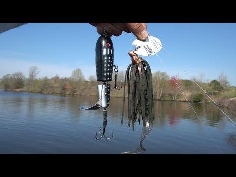 Fishing BIG Musky Lures For BIG Texas Bass