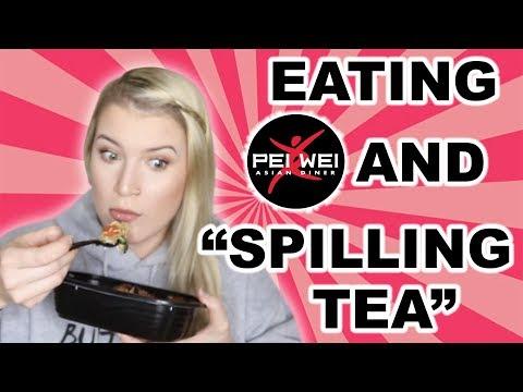 """EATING PEI WEI AND """"SPILLING TEA""""   MUKBANG"""