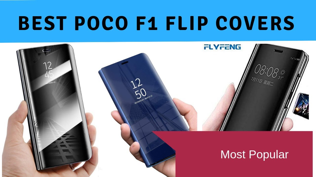 brand new 96c6b 7aae1 Best Xiaomi Poco F1 Flip Covers In India With Price | Top Flip Cover Brands
