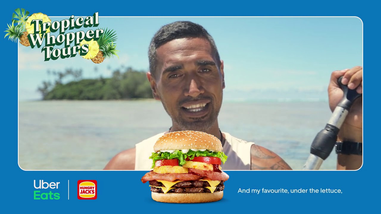 Ina | Tropical Whopper Tours | Uber Eats x Hungry Jack's