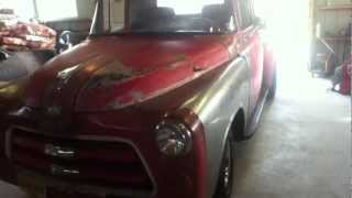 1955 dodge rat rod truck