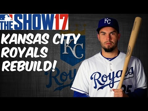 MLB 17 THE SHOW REBUILDING THE KANSAS CITY ROYALS!! MLB 17 THE SHOW 30 TO 1 REBUILD #13
