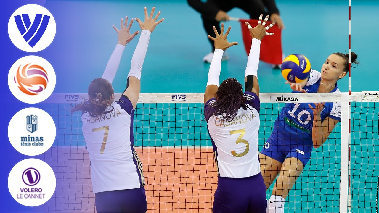 Minas vs. Volero Le Cannet - Full Match | Pool A | Women's Volleyball Club World Championship 2