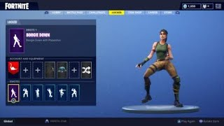 HOW TO GET THE NEW BOGGIE DOWN DANCE IN FORTNITE (ITS FREE AND SIMPLE )