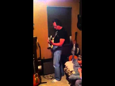 Dad Bill Ripping It On His Gibson M III