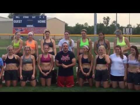 Hutchinson Community College Softball ALS Ice Bucket Challenge