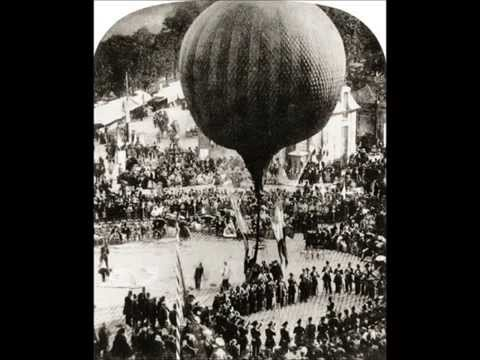 Rare Photographs Of Early Manned Balloon Flights