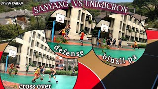 Dayo series Taiwan: SANYANG VS UNIMICRON By: bulay og tv