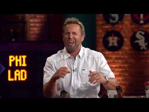 Kevin Millar challenged to home run derby by Jonny Gomes