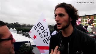 Adrien Rabiot - Le footballeur découvre le monde hippique