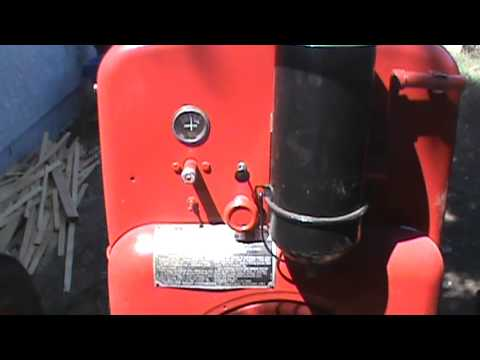 1947 lincoln welding machine with a wisconsin engine youtube welding generator wiring diagram #8
