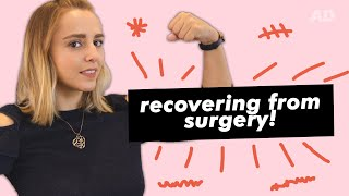 My Surgery Recovery Journey & How I Stay Positive | Hannah Witton | AD