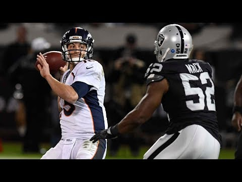 Denver Broncos vs. Oakland Raiders crucial AFC West early season matchup