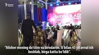 Алишер Усмонов президент Мирзиёевнинг рафиқаси билан рақсга тушди