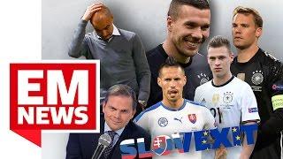 Island-Kommentator droht Entlassung, Poldi bewirbt sich bei Basketball-Klub - EM-News