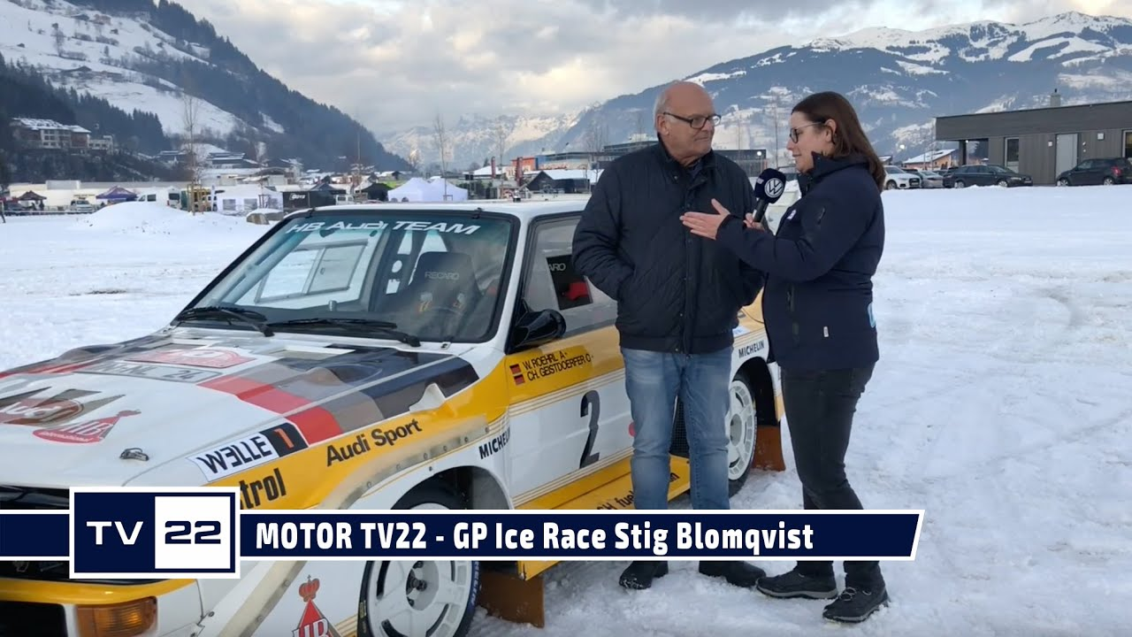 MOTOR TV22: GP ICE Race 2020 in Zell am See - Rallye Weltmeister Stig Blomqvist im Interview