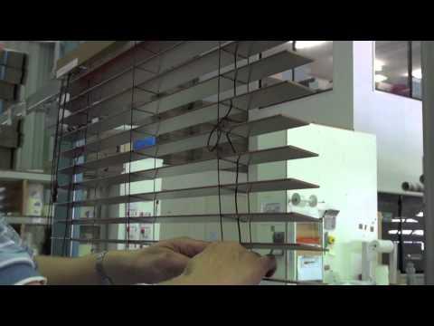 Venetian Blinds - Replacing a Slat