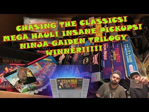 VIDEO GAME MEGA HAUL! INSANE PICKUPS! VTGH-EP.28 Chasing the Classics