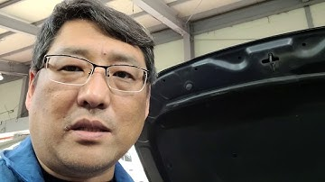 그랜저 디젤 타이어교환 및 연료필터교환