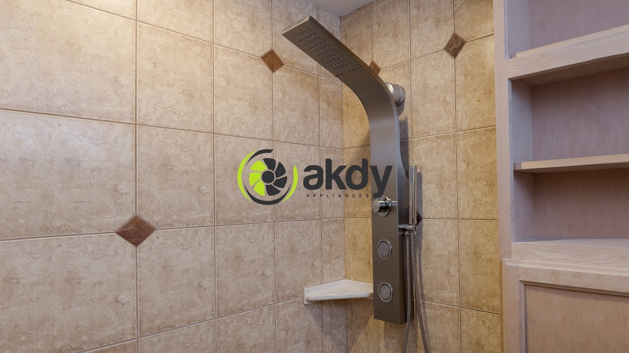 akdy easy connect shower panel installation