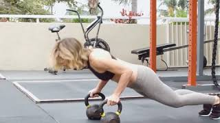 KETTLEBELL FAT BURNING WORKOUT - JILLIAN MICHAELS