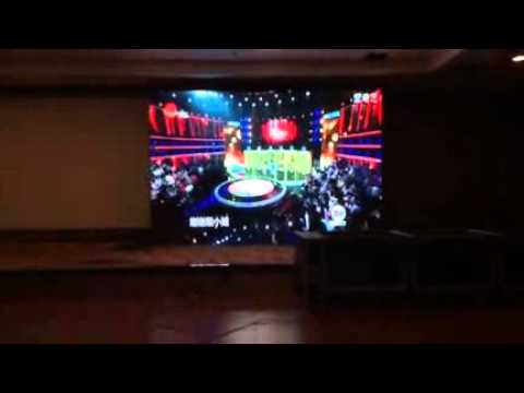 Stage background rental led video wall screen P6 led