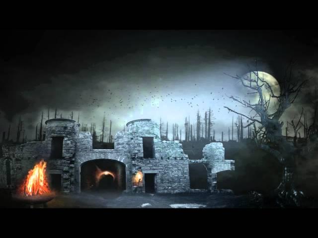 Mitternachtsshow Animation - Bühnen Hintergrund