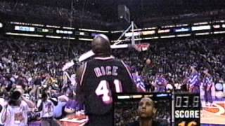 Glen Rice Wins 1995 NBA 3pt. Shootout