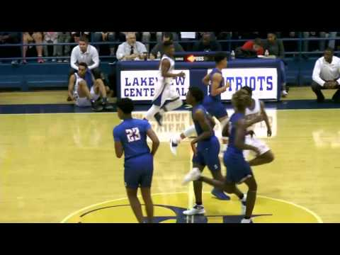 Garland ISD: 2017 Basketball LCTV: South Garland vs Lakeview Boys