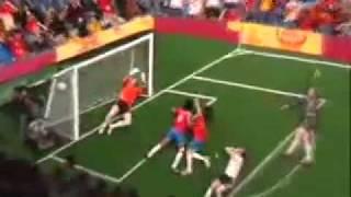 Fußball im Liegen (DEUTSCHLAND vs. COSTA RICA)