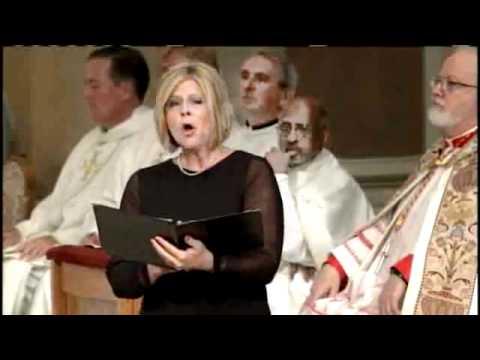 Susan Graham Performs 'Ave Maria' At Mass.flv