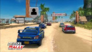 Review of Sega Rally Online Arcade for XBLA and PSN by Protomario