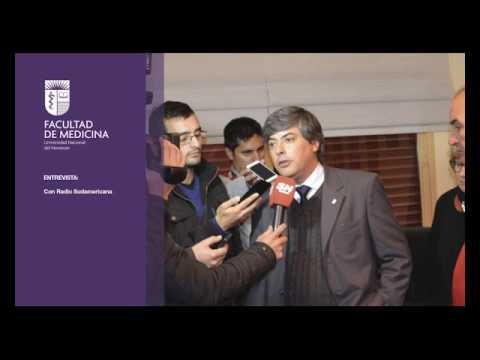[Audio] Entrevista: Prof. Gerardo O. Larroza - Radio Sudamericana