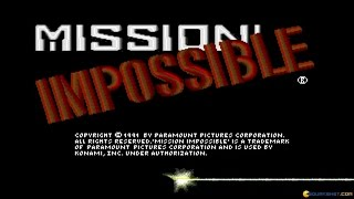 Mission: Impossible gameplay (PC Game, 1991)