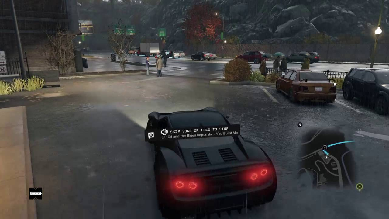 The best car in the game and best p to get money WATCH DOGS #1 ...