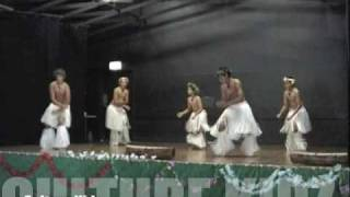 Boys Cook Island Drum Dance